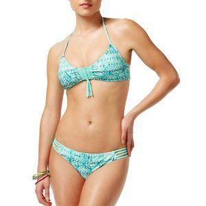 NWT Hula Honey Gypsy Queen Strappy Bikini Set